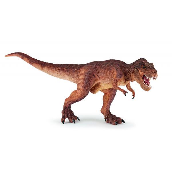Figurina Papo-Dinozaur T-rex maro alergand este o jucarie&160;pentru copiiDimensiuneLxh316x115&160;cmRecomandat 3 ani