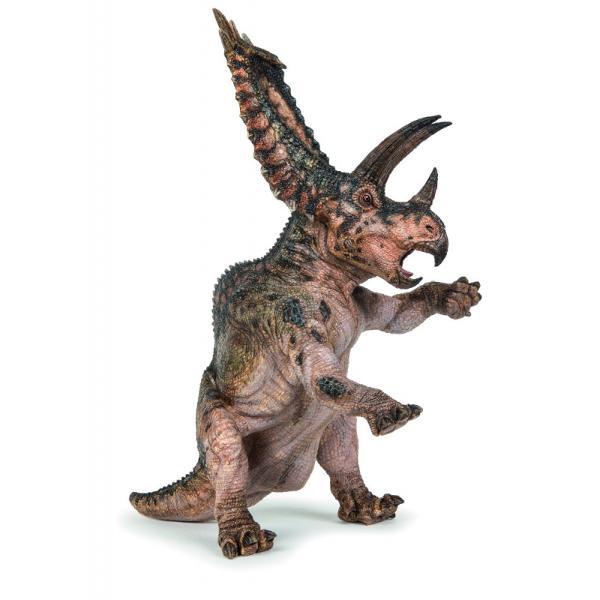 Figurina Papo &8211; Dinozaur Pentaceratops o jucarie pentru copiiDimensiuneLxh&160;19x178 cmRecomandat 3 ani