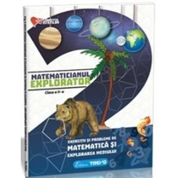 Aceast&259; lucrare este realizat&259; în conformitate cu programa &351;colar&259; în vigoare Exerci&355;iile variate de matematic&259; &351;i cunoa&351;terea mediului împreun&259; cu imaginile sugestive dezvolt&259; atât gândirea logic&259; a copiilor cât &351;i imagina&355;ia îmbog&259;&355;indu-le cultura general&259; &351;i stimulându-le interesul pentru mediul