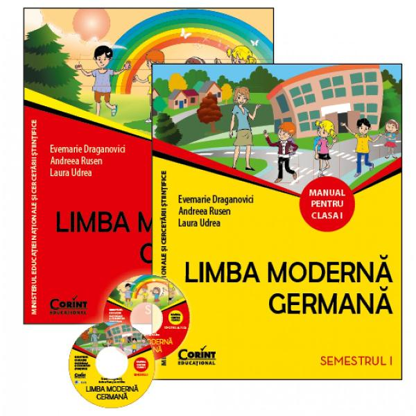 Limba moderna germana Manual pentru clasa I semI &351;i al II-lea