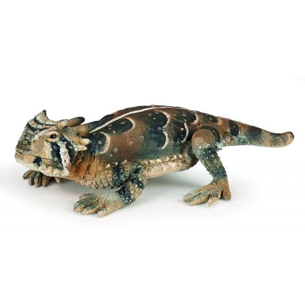Figurina Papo-Soparla cu coarne este o jucarie pentru copiiDimensiuneL95 cmRecomandat 3 ani