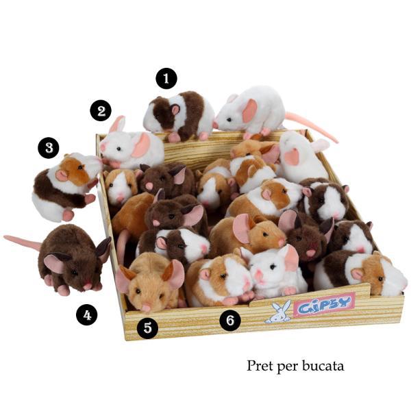Soricel - jucarie din plus 12 cmdimensiune 12 cmsoricel din pluspoti alege unul din cele&160;6&160;modele disponibile