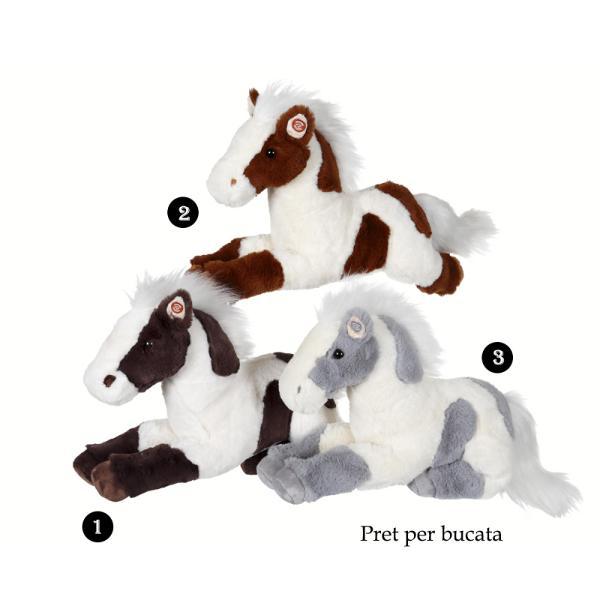 Cal cu pete - jucarie din plus cu sunet 35 cmdimensiune&160;35 cmcal din plus cu sunetpoti alege unul din cele 3 modele disponibile