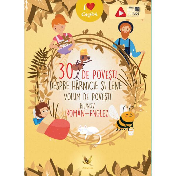 Un minunat volum de povesti bilingv roman-englezcare ii introduce pe copii in lumea povestilor dar ii ajuta si la aprofundarea limbii engleze