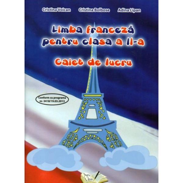 Limba franceza clasa a II a caiet de lucru