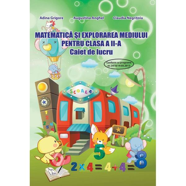 Matematica si explorarea mediului pentru clasa a II a