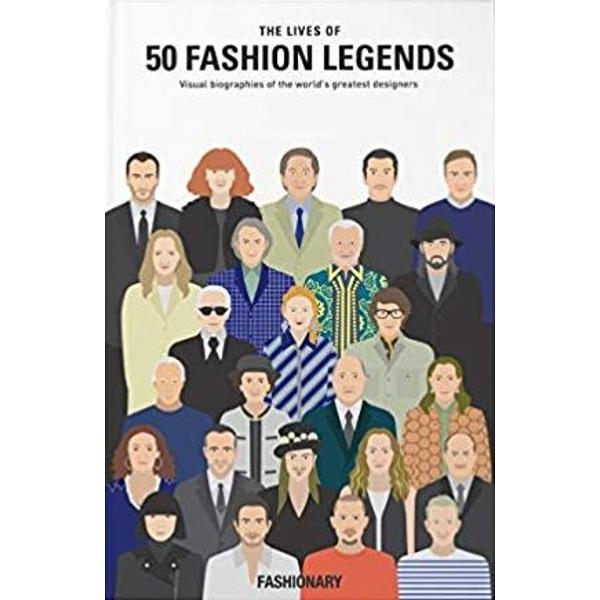 This fun volume from fashion experts Fashionary tracks the rise to fame of the most influential designers in fashion  This visual book walks you through the stories of the worlds greatest designers across the decades Explore each of the legends life choices learn how they adapted to trends and adversities and discover how the fashion industry has changed over the years Filled with timelines and fascinating graphics that place each fashion designer on the world stage This volume