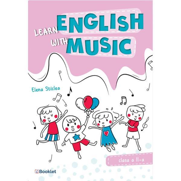 Learn English with music clasa a II-a propune celor mici o abordare eficient&259; &537;i ludic&259; a no&539;iunilor de baz&259; ale limbii engleze având ca suport principal de înv&259;&539;are o serie de melodii foarte cunoscute copiilorStructurat pe baza unor exerci&539;ii diversificate dispuse progresiv caietul de lucru cuprinde– termeni din vocabularul de baz&259;– no&539;iuni elementare de gramatic&259;– modele