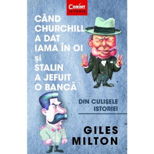 Giles Milton face din nou dovada talentului s&259;u de a reda cu mult&259; m&259;iestrie &537;i umor fin întâmpl&259;ri mai mult sau mai pu&539;in cunoscute din istoria omeniriiDe data aceasta sunt aduse în fa&539;a cititorului personaje celebre precum Winston Churchill care a încurajat testarea pe animale a unor arme biologice în cazul de fa&539;&259; a bombelor cu antrax IV Stalin care a murit otr&259;vit de unul dintre