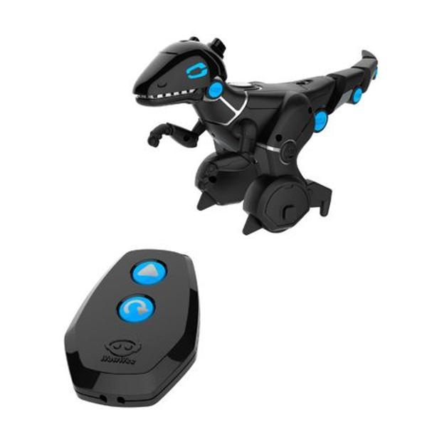 Seria Mini include toti robotii clasici WowWee la dimensiuni reduse numai buni pentru a putea fi luati oriunde Fiecare dintre roboti chiar si mici sunt caracterizati de propriile actiuni unele dintre ele surprinzatoare Sunt mai mult decat simple figurine articulate Acum e usor sa fii in centrul atentiei si sa te joci Trebuie doar sa cumperi un mini robotel de la WowWee si distractia poate sa inceapaLa fel ca si modelul original Mini Roboraptor se deplaseaza in doua