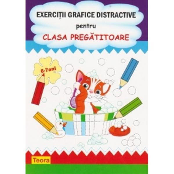 Exercitii grafice distractive pentru clasa pregatitoare