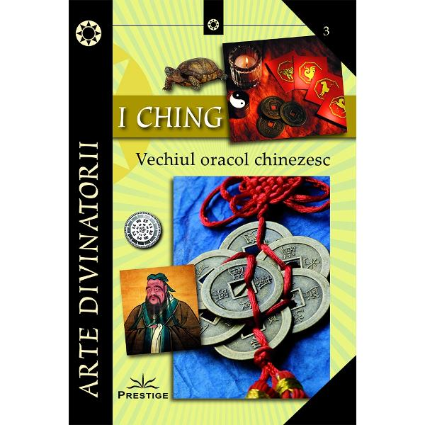I Ching este o metoda de divinatie aparuta in China in urma cu mii de ani Astazi ea a primit acreditari stiintifice si un loc in topul tehnicilor intuitive de aflare a viitorului Aceasta arta ne va ajuta in momentul in care nu reusim sa intelegem o anumita situatie din prezentul nostru acele simtaminte inaccesibile puterii noastre de intelegere care ar putea genera anumite consecinte in viitorul nostru