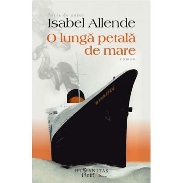 Isabel Allende 23 de carti publicate traduceri in peste 40 de limbi; peste 74 de milioane de exemplare vandute; 15 doctorate onorifice; peste 60 de premii in peste 15 tari; 2 filme de succes realizate dupa romanele sale In 2018 a primit National Book Award celebrandu-se astfel pentru prima data in S U A o opera scrisa in limba spaniolaIn august 1939 poetul Pablo Neruda organizeaza plecarea din portul Bordeaux a legendarei nave Winnipeg care va duce la