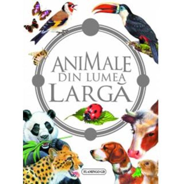 Universul acestei carti este plin de informatii despre fiinte incredibile animale din lumea larga atat domestice cat si salbatice pasari si mamifere despre mediul in care traiesc despre masini agricole despre culesul viei Descopera-le pe toate te vei distra si te vei delecta cunoscandu-le
