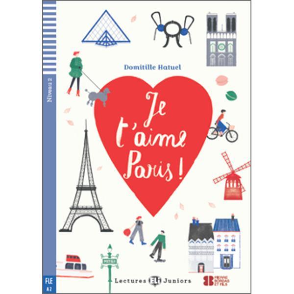 Niveau CECRA2ThèmeAmitiéVous voulez découvrir Paris de façon différente  Alors rejoignez-nous dansJe t'aime Paris et partez à l'aventure au coeur de la capitaleVous allez tout savoir sur la ville lumière des lieux les plus touristiques aux