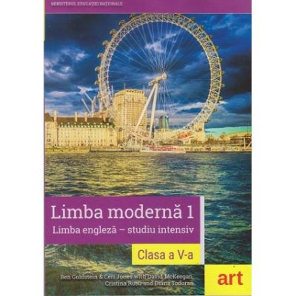 Manual limba engleza Studiu intensiv clasa a V a  CD