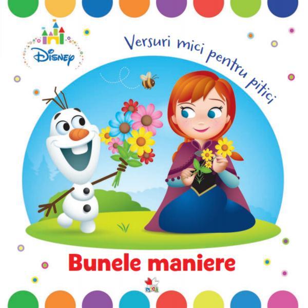 Rimele vesele &537;i amuzante din acest volum vor fi pe placul tuturor copiilor la vârsta de doi ani