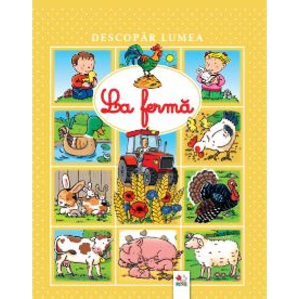 O carte minunat&259; cu ilustra&539;ii captivante &537;i textescurte care &238;l vor introduce pe micu&539;ul t&259;u&238;n lumea fascinant&259; a animalelor
