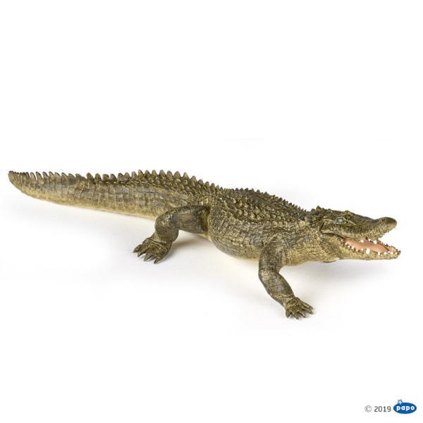Figurina Papo-Aligator va fascina prin atentia la detalii si fidelitatea reprezentarii realitatii Figurina este produsa din plastic durabil si are mandibula mobila CujucariaPapo-Aligator vei face ziua mai buna colectionarului de figurine si copilului insetat de cunoastereAligatorul este un gen de reptila din familia Alligatoridae ordinul Crocodiliap stylefont-weight