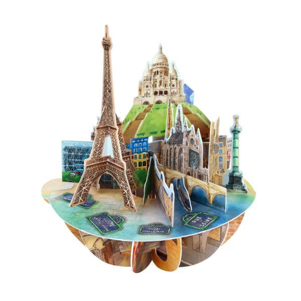 Felicitarea 3D Pirouettes Santoro-Paris este o felicitare suvenir care te va transporta in Paris orasul iubirii si a indragostitilor ori de cate ori te vei uita la ea Deschide felicitarea prin simpla rotire a manerului in jurul bazei ca orasul iubirii sacucereasca toate privirile din camera Un cadou perfect incepe cu un gand bun scrie mesajul tau pe spatele bazei si daruieste-o persoanei dragiCaracteristiciDiametru felicitare 20x15