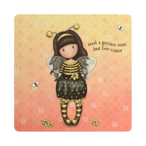 Etichete in dosar Gorjuss Bee Lovedeste o varinata amuzanta si foarte atragatoare de a transmite mesaje prietenilor di intreaga lume Cu acest set de etichete in dosar ai nevoie doar de imaginatie si prieteni si le poti transmite cele mai calde urariEtichetele in dosar Gorjuss Bee Loved contine- 42 de foi cu design-urile Bee Loved Tall Tails sau Bubble Fairy Foile sunt sub forma unui plic care se impatureste are camp pentru mesaj si un