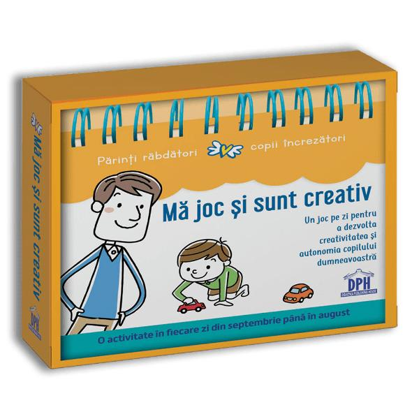 Cu o activitate &238;n fiecare zi realizat&259; &238;mpreun&259; &238;l ve&539;i putea ajuta pe copilul dumneavoastr&259; s&259; se concentreze s&259;-&537;i dezvolte autonomia &537;i creativitatea &537;i s&259;-&537;i afirme personalitatea Cu pu&539;ine materiale &537;i mult&259; imagina&539;ie acest calendar v&259; propune &238;n fiecare zi c&226;te o activitate constructiv&259; &537;i educativ&259; pentru a v&259; cre&537;te copilul respect&226;ndu-i ritmul