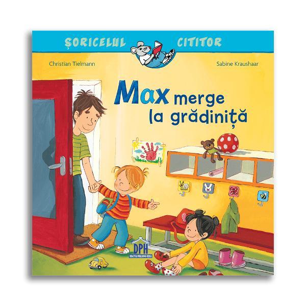În sfâr&537;it Max a început gr&259;dini&539;a Aici a&537;eza&539;i în cerc copiii cânt&259; un cântecel vesel de diminea&539;&259; Max deseneaz&259; o cetate se distreaz&259; de minunte la locul de joac&259; m&259;nânc&259; paste delicioase &537;i dup&259;-mas&259; adoarme în camera de odihn&259; &536;i mama lui a venit deja s&259;-l ia acas&259; Când te sim&539;i atât de bine la