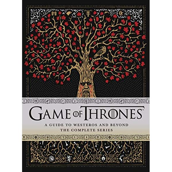 Feeling lost withoutGame of Thrones Relive all 8 series with the ONLY official tie-in guide to the biggest TV series in the worldDelve deeper into Westeros than ever before  Coveringall eightseasons of the hit HBO show this remarkable volume offers a unique and exciting visual exploration into the incredible world ofGame of ThronesIn two parts the book