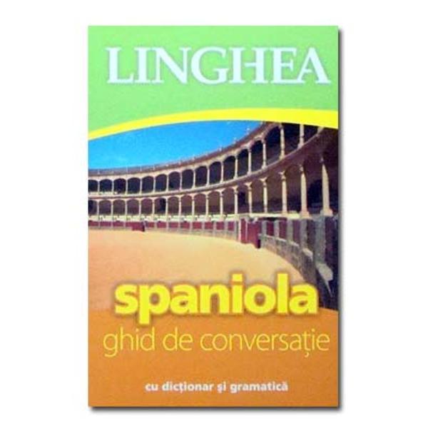 Limba spaniol&259; este vorbit&259; de peste 400 de milioane de oameni a&351;a c&259; nu ezita&355;i s&259; &238;nv&259;&355;a&355;i m&259;car cuvintele de baz&259; Nu v&259; va fi deloc greu spaniola &537;i rom&226;na sunt limbi romanice deci asem&259;n&259;toare Mai mult nu conta&355;i pe faptul c&259; &238;n Spania sau &238;n America de Sud v&259; ve&355;i &238;n&355;elege cu locuitorii &238;n limba englez&259; Un ghid de conversa&355;ie se va dovedi util