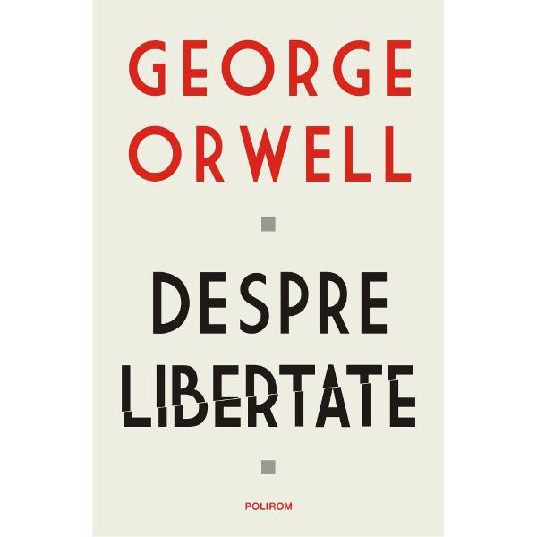 George Orwell se num&259;r&259; printre cei mai celebri scriitori &351;i anali&351;ti sociali În scrierile sale a denun&355;at nedrept&259;&355;ile îndurate de cei s&259;raci a atras aten&355;ia cu privire la pericolele totalitarismului &351;i a ap&259;rat libertatea de expresie Acest volum în care sînt incluse atît fragmente din romane cît &351;i din alte scrieri ale lui Orwell cartografiaz&259; gîndirea sa profetic&259; &351;i