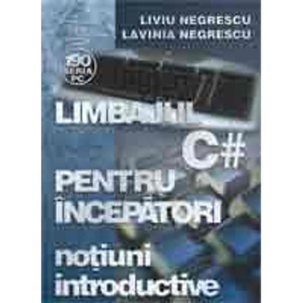 Cartea se adreseaza unui cerc larg de cititori care doresc sa se initieze in programarea si utilizarea limbajului C Volumul I contine notiuni introductive cu privire la programarea calculatoarelor algoritmi si reprezentarea acestora programare structurata functii si organizarea datelor