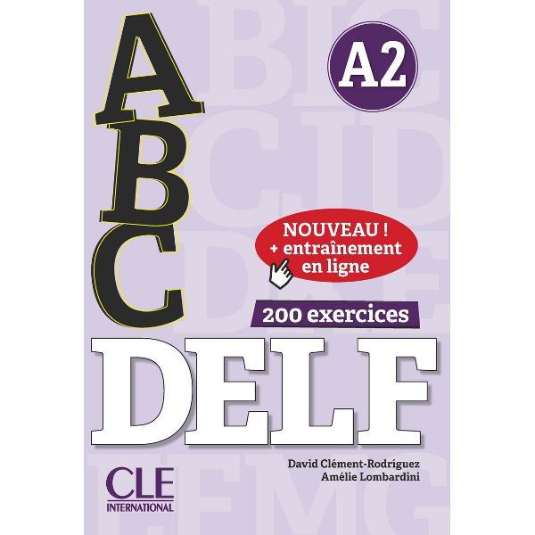 Ouvrage de préparation aux examens du DELF niveau A2 dans la collectionABCDelf destiné aux grands adolescents adultes Entrainement en ligne inclusABC DELF A2est destiné aux grands adolescents et adultes préparant les épreuvres du Diplôme détude de la langue française DELF et existe pour chaque niveau du Cadre européen commun de référence