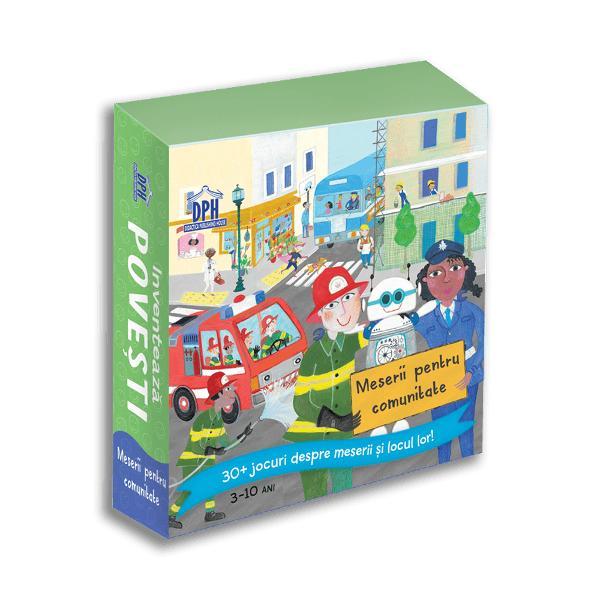 Jocuri despre meserii si locul lor   Specifica&539;ii Jetoane 36 Brosura 6 pagini M&259;rimi Jetoane 10 x 13  Cutie 11 x 14 cm