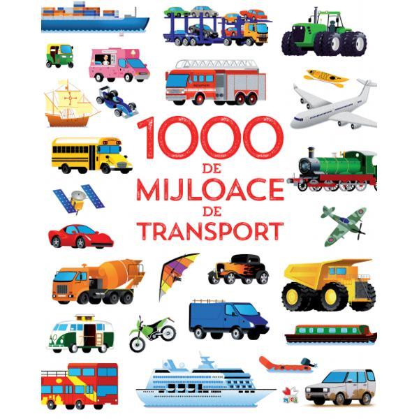 O carte captivant&259; în care vei g&259;si probabil toate felurile de vehicule pe care le-ai v&259;zut vreodat&259; &537;i înc&259; o mul&539;ime pe care nu le-ai v&259;zut De la carele de lupt&259; romane la ma&537;inile moderne de curse vei descoperi o mie de mijloace de transport pe uscat pe ap&259; &537;i în aer fascinante