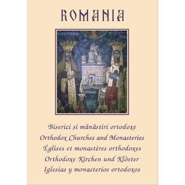Este o editie bilingva romana-engleza ce prezinta bisericile si manastirile ortodoxe de pe teritoriul Romaniei