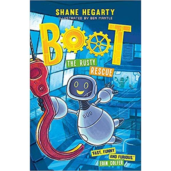 For fans of Toy Story and Charlie Changes into a Chicken this is the second hilarious warm-hearted story about a small robot on a big adventureWith illustrations by Ben Mantle bringing Boots world to life this is a thrill-ride of an adventure stuffed with fun friendship and a warehouse full of bouncy castlesFast funny and furious These are definitely my favourite robots Eoin ColferToy robot Boot has