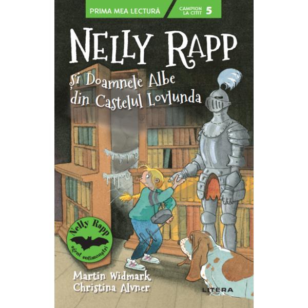 Într-o zi tat&259;l lui Nelly vede o reclam&259; într-un ziar o vizit&259; la un castel bântuitToat&259; familia este încântat&259; mai ales Nelly care poate s&259;-&537;i testeze cu aceast&259; ocazie detectorul de fantome Numai c&259; în Castelul Lovlunda îi a&537;teapt&259; mai multe surprize decât î&537;i pot imaginaMARTIN WIDMARK este cel mai popular scriitor suedez &537;i unul