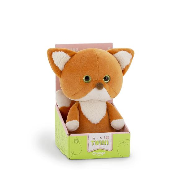 Hello I am a little Fox from the Mini Twini collection My friends and I live in a big entertainment park - The MiniTwiniLand All the Mini Twini animals are babies and look similar like twins Especially when it comes to games fun and holidays Collect the whole collection and let's have some fun