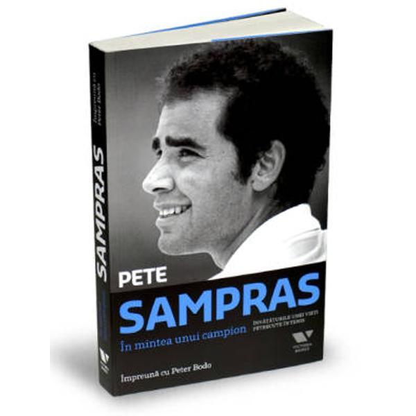 Pete Sampras este asa cum se poate demonstra cel mai mare juca&131;tor de tenis din toate timpurile un om a ca&131;rui etica&131; a muncii bine consolidata&131; a dus la un numa&131;r fa&131;ra&131; precedent de clasa&131;ri pe prima pozitie timp de 286 de sa&131;pta&131;mani consecutive si al ca&131;rui talent precoce a fa&131;cut posibila&131; atingerea recordului de paisprezece titluri de Mare Slem Desi uneori prima pagina&131; a fost tinuta&131; de rivalii sa&131;i mai