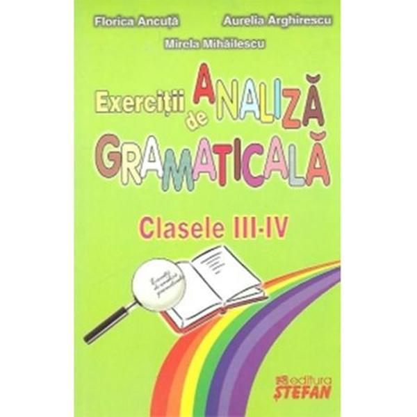 Analiza Gramaticala Clasa