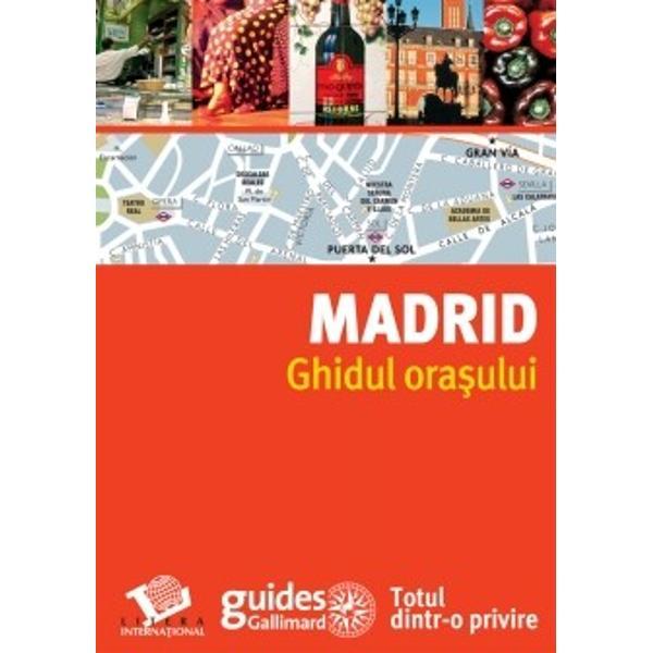 Madrid cu h&259;r&539;ile &238;n m&226;n&259;Din cartier &238;n cartier pentru toate gusturile &537;i toate buzunarele o culegere de 60 de locuri indispensabile o selec&539;ie de 150 de adrese de restaurante hanuri baruri tapas teatre s&259;li de concert magazine pie&539;e hoteluri &537;i toate informa&539;iile practice planuri &537;i sfaturi&160; bune pentru a profita c&226;t mai mult de Madrid