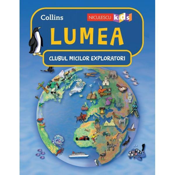 SUTE DE LUCRURI FASCINANTE DESPRE LUMEAproape jum&259;tate dintre plantele animalele &351;i insectele de pe glob tr&259;iesc în zona Amazonului unde se afl&259; cea mai mare p&259;dure tropical&259; din lume Descoper&259; o mul&355;ime de curiozit&259;&355;i fascinante despre planeta noastr&259; mediul înconjur&259;tor culturile popoarelor &355;&259;ri forme de relief plante &351;i animale• Canada are cea mai lung&259; linie de