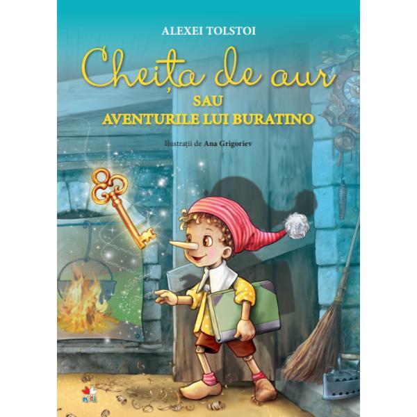 O minunat&259; adaptare a c&259;r&355;ii scrise de Alexei Tolstoi despre care el însu&537;i m&259;rturisea c&259; a fost inspirat&259; de nenum&259;ratele pove&537;ti cu aventurile lui Pinocchio pe care le-a spus adeseori copiilor