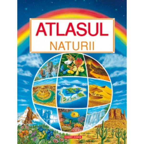 Adresat copiilor de la 5 la 8 ani acest atlas prezinta cele mai uimitoare peisaje din lume