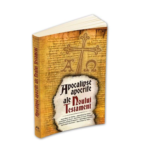 Este cunoscuta existenta unei serii de Evanghelii Fapte Epistole si Apocalipse apocrife ale Noului Testament care au circulat in comunitatile crestine timpurii si s-au transmis de-a lungul timpului pana in zilele noastre Cartea de fata ofera accesul la cele mai cunoscute dintre Apocalipsele apocrife impreuna cu un aparat critic ce usureaza intelegerea contextului in care au fost redactateIntelesul literal al termenului apocalipsa este acela de ridicare a valului de