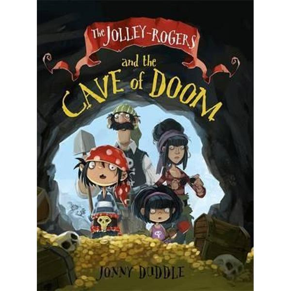 While the Jolley-Rogers are enjoying a day at the beach little sister Nugget toddles into a cave When she doesnt come out again Mum goes in to find her And when Mum doesnt return Dad follows Jim Lad is suspicious and sends Bones the dog to Dull-on-Sea to find Matilda before he too ventures in to the cave Jim Lad soon discovers a magical haul of treasure inside the cave has bewitched his family Will the caves spooky inhabitant a sinister sea witch keep them prisoner forever or