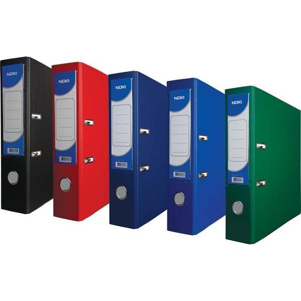 Biblioraft A4 plastifiat la exterior cu folie de polipropilena interior din carton Prevazut cu buzunar pentru eticheta si muchie metalica pentru protejarea colturilor ;
