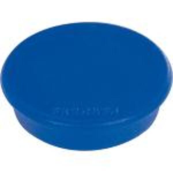 Magneti pentru tabla 24mm 10 buc culoare albastra