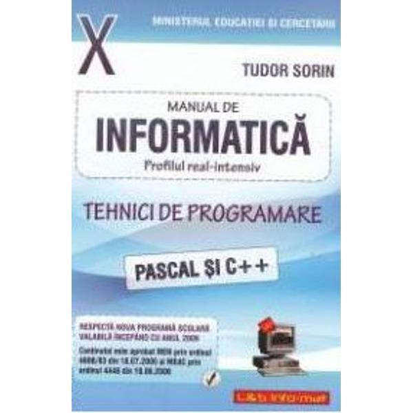 Informatica intensiv Pascal clasa a X