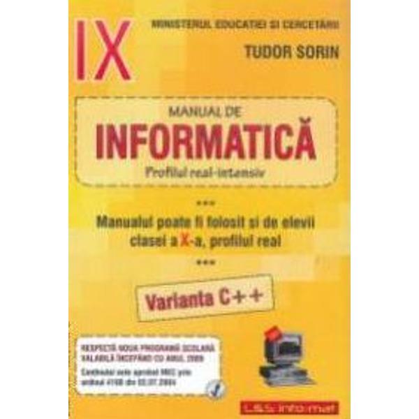 Informatica clasa a IX-a real intensiv